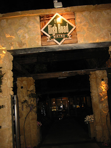 The High Road Bistro