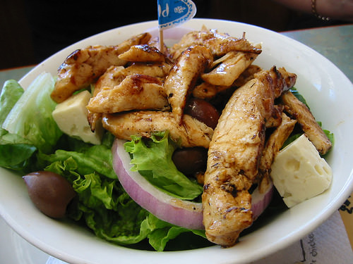 Nando's Mediterranean Chicken Salad