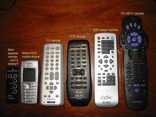Too many remotes!