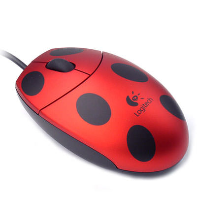 Logitech Ladybug Mouse