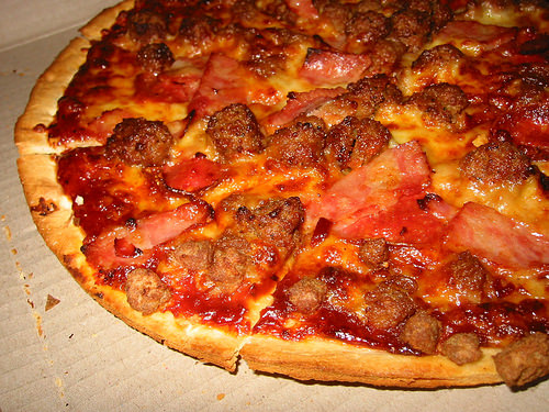 Meatmaster with Thin 'n' Crispy crust