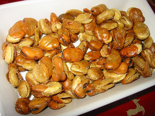 Garlic broadbeans