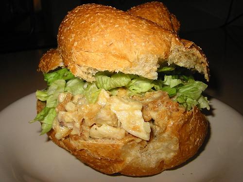 KFC in a bun