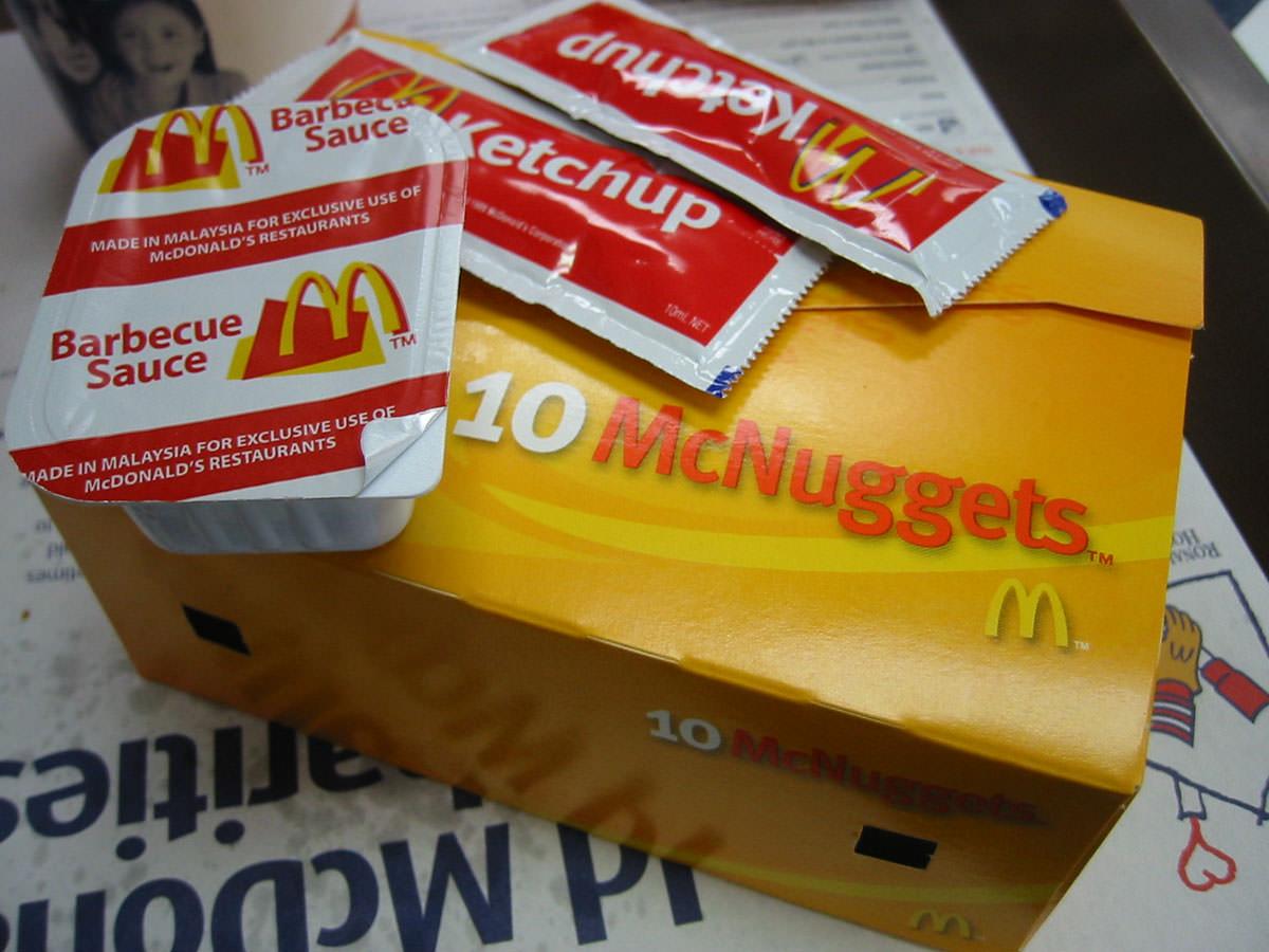 McNugget box