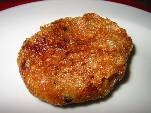 Corned beef pattie