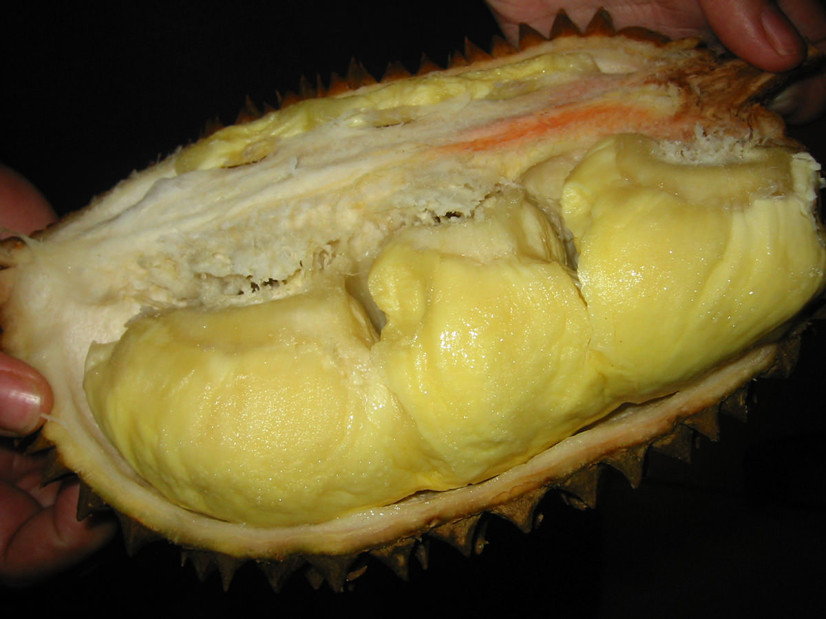 Durian, ready to eat