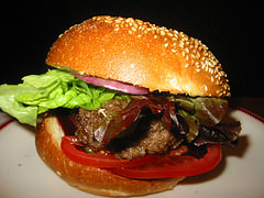 Beef Burger: Click to read the article at EatingWA