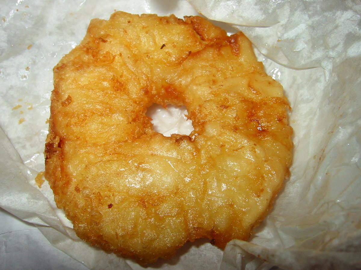 Pineapple fritter