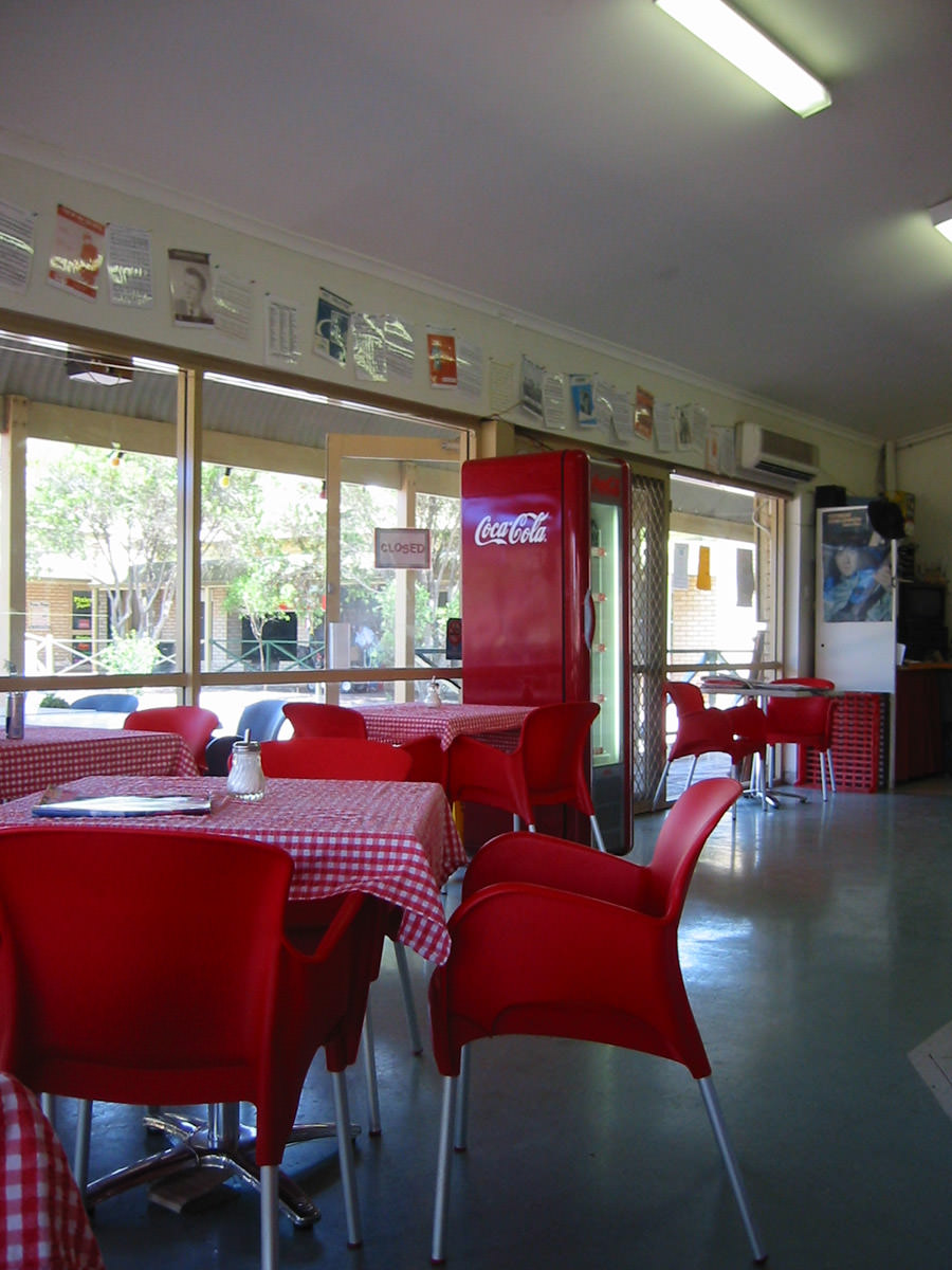 The Sugar Shack Cafe, interior
