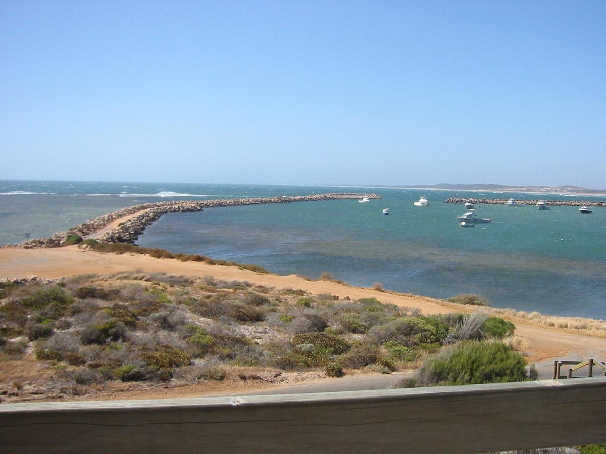 View from Fishermen's Memorial