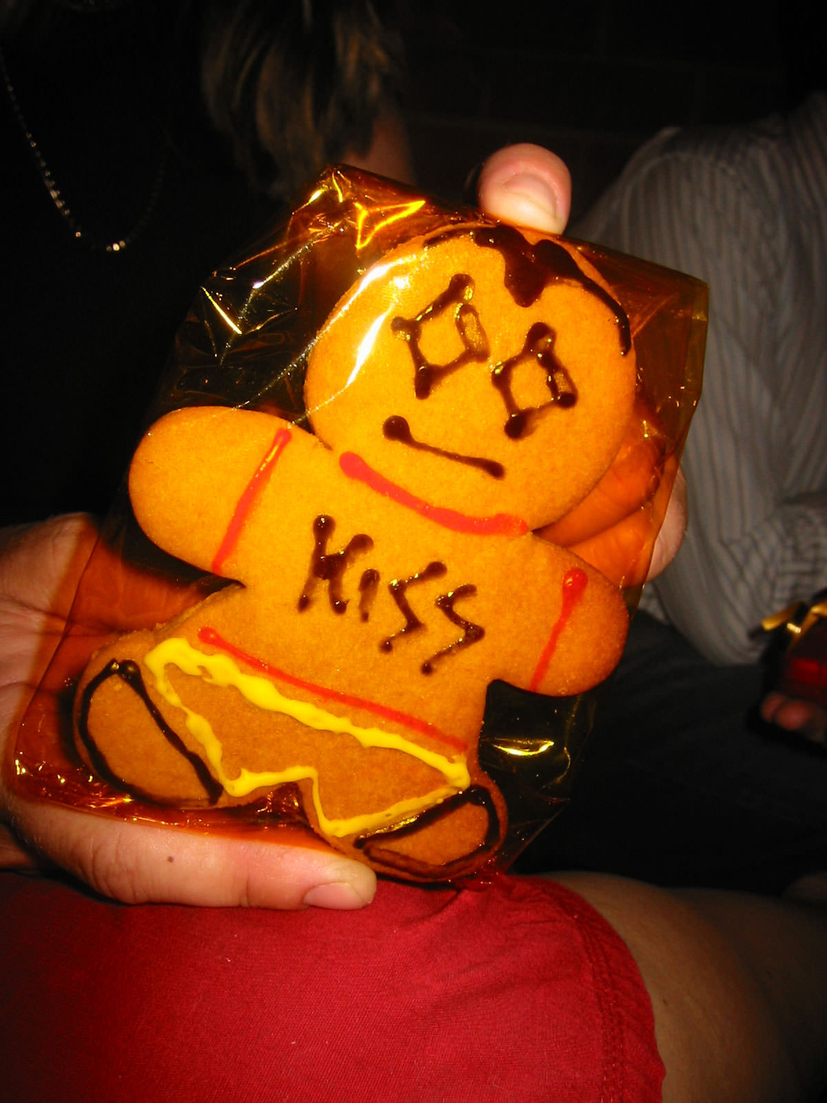 KISS Gingerbread Man