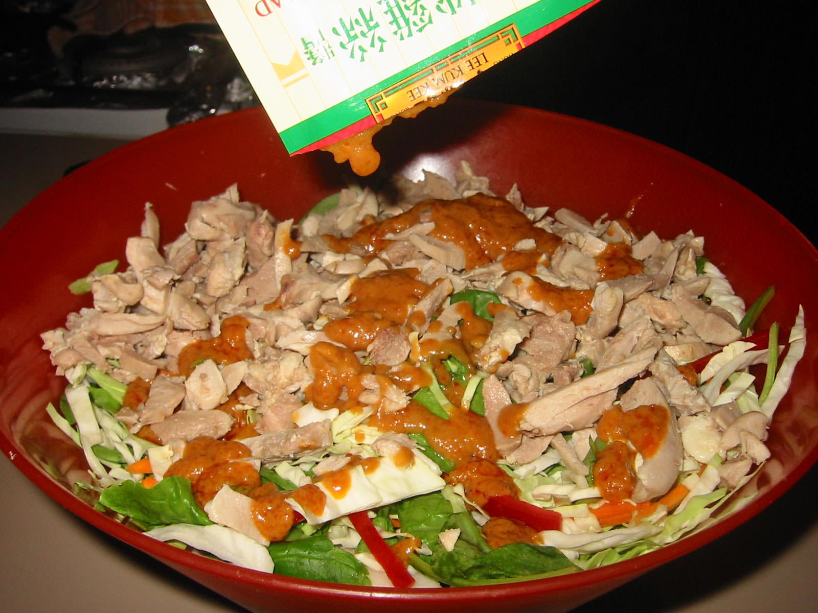 Chinese chicken sald
