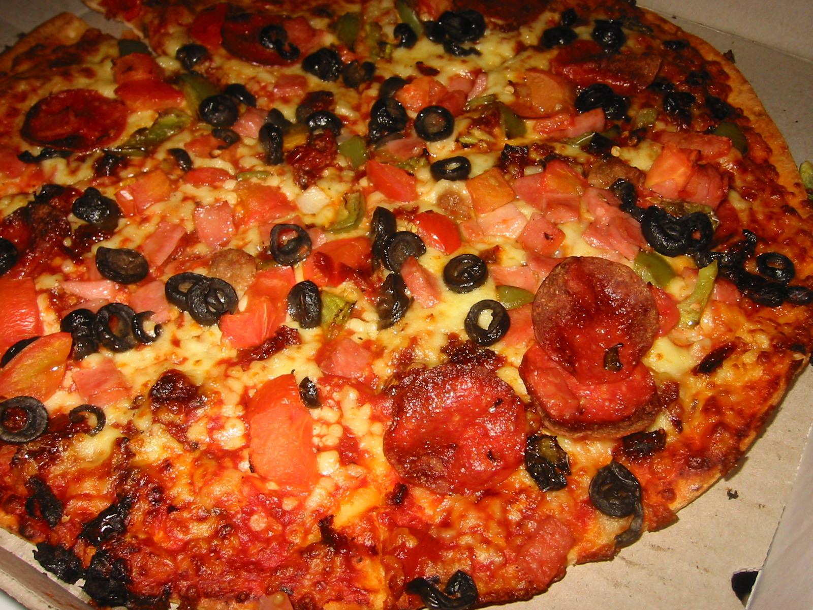 Domino's Godfather Pizza