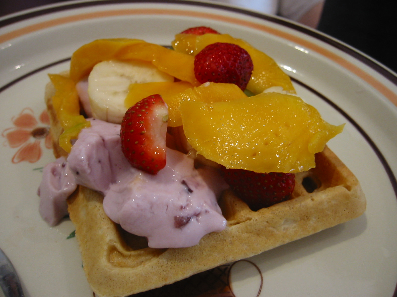 My aunt's waffle