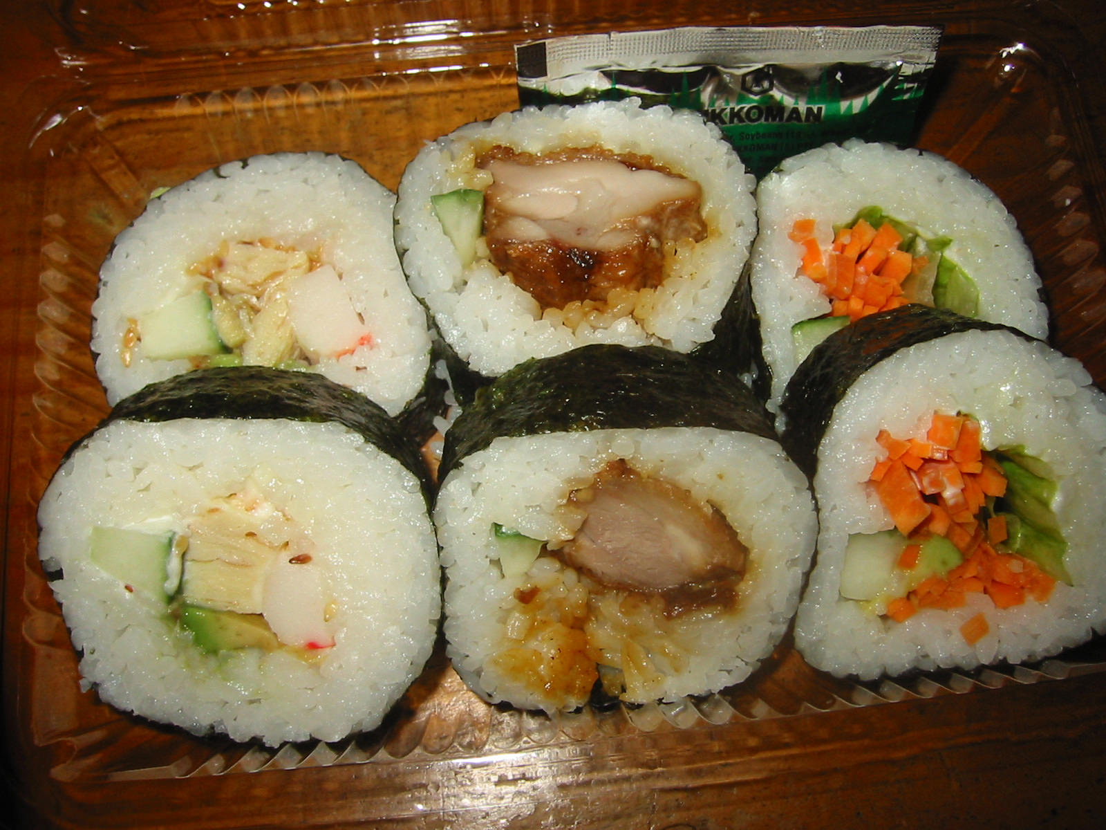 Jac's assorted sushi