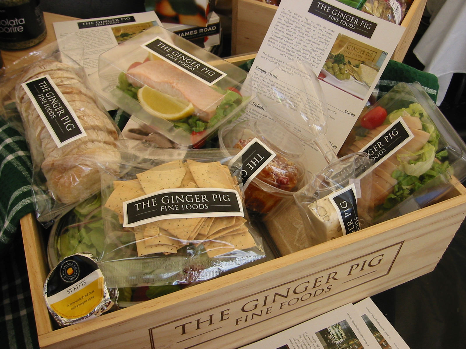 The Ginger Pig gourmet goodies