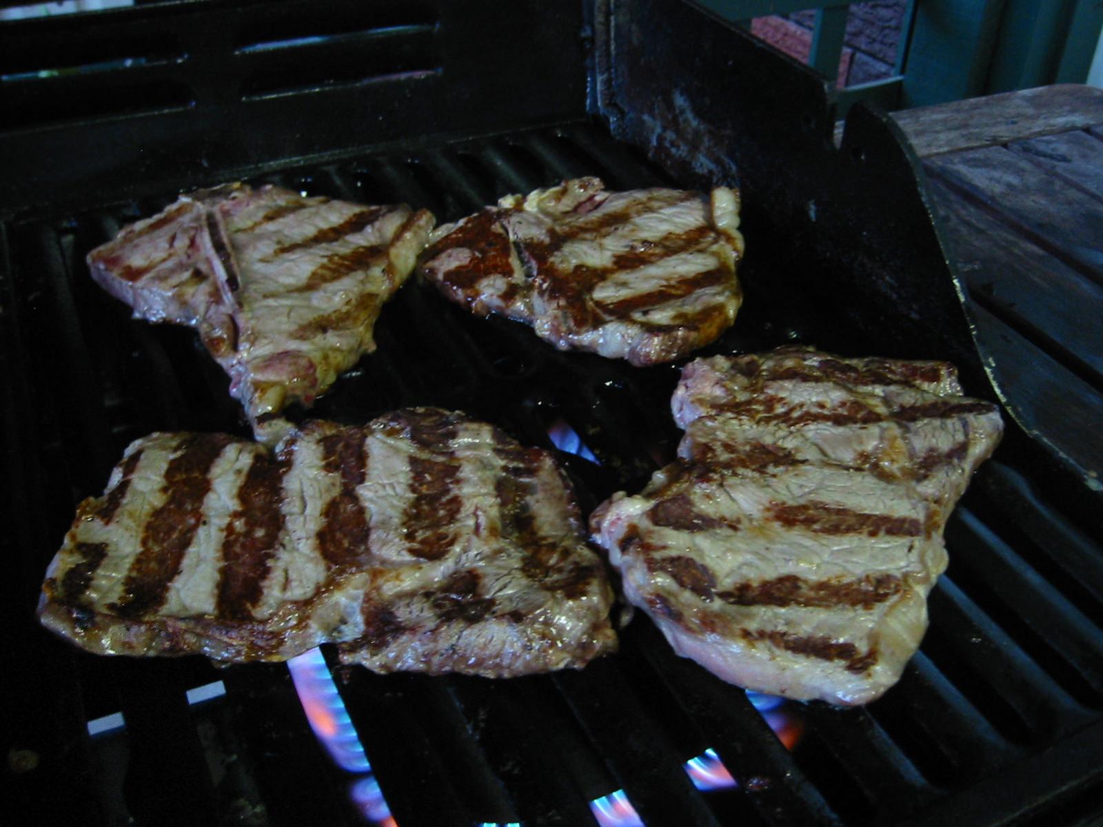 Steaks - no flash