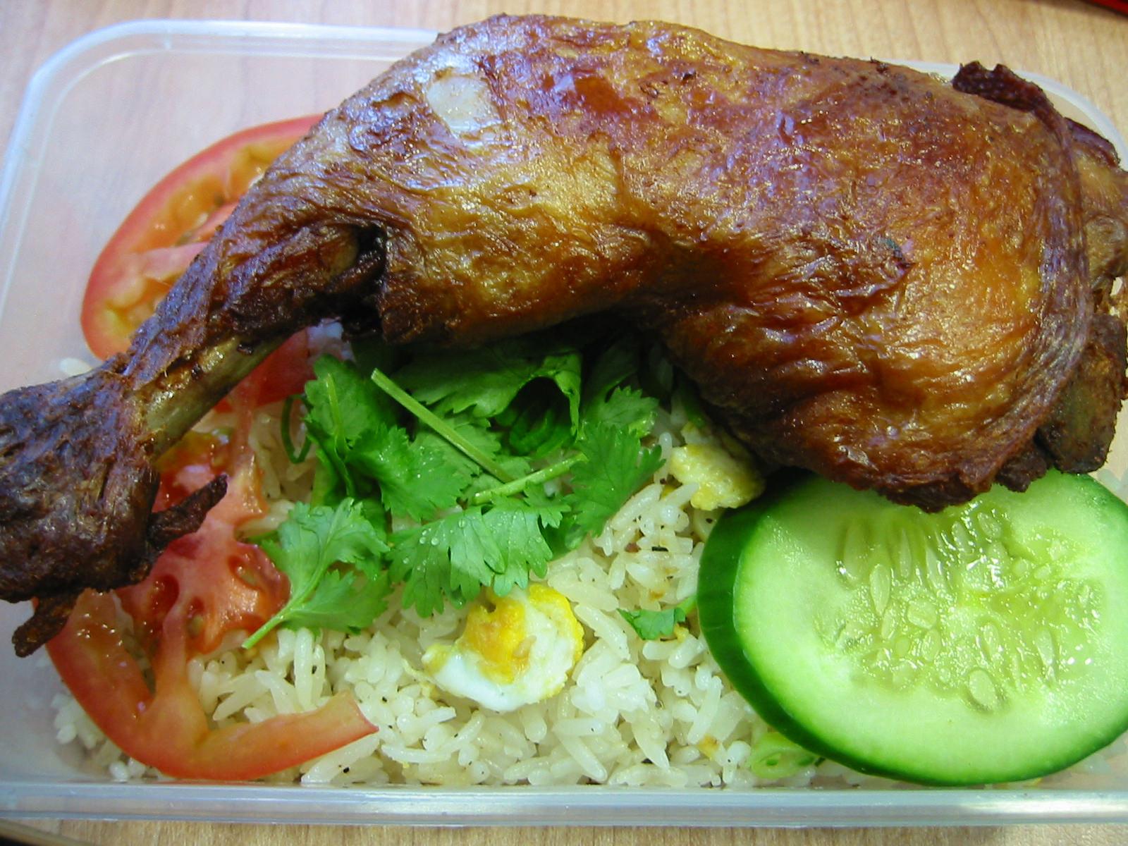 Crispy Saigon chicken fried rice