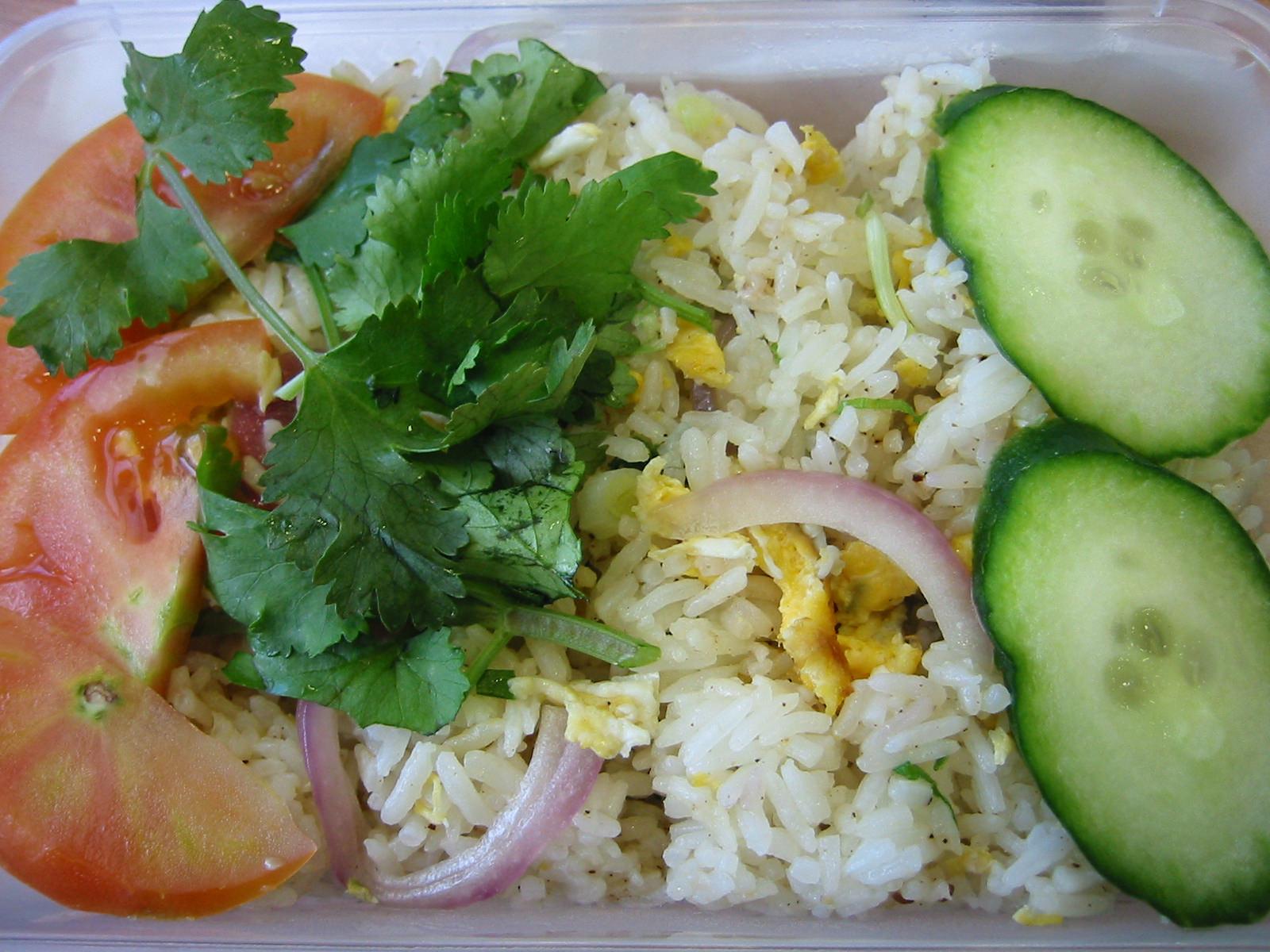 Saigon crispy chicken rice