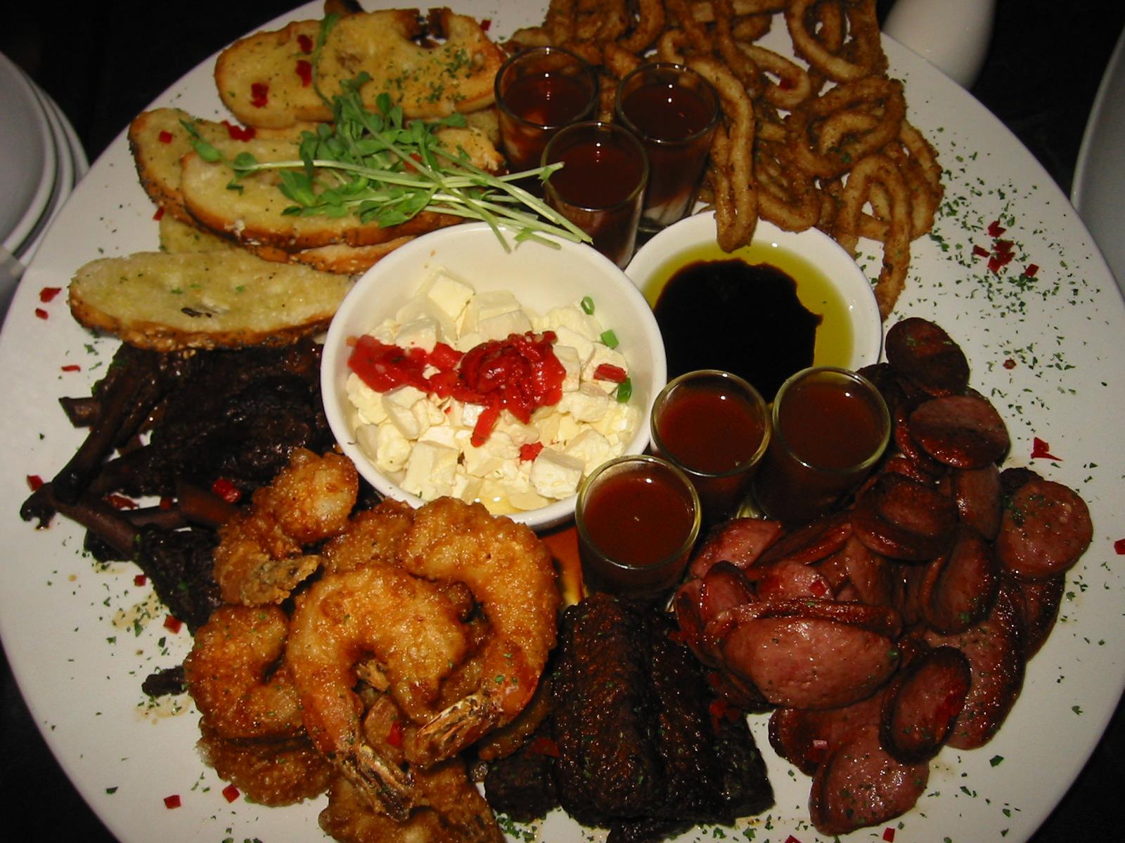 Taste Plate for six
