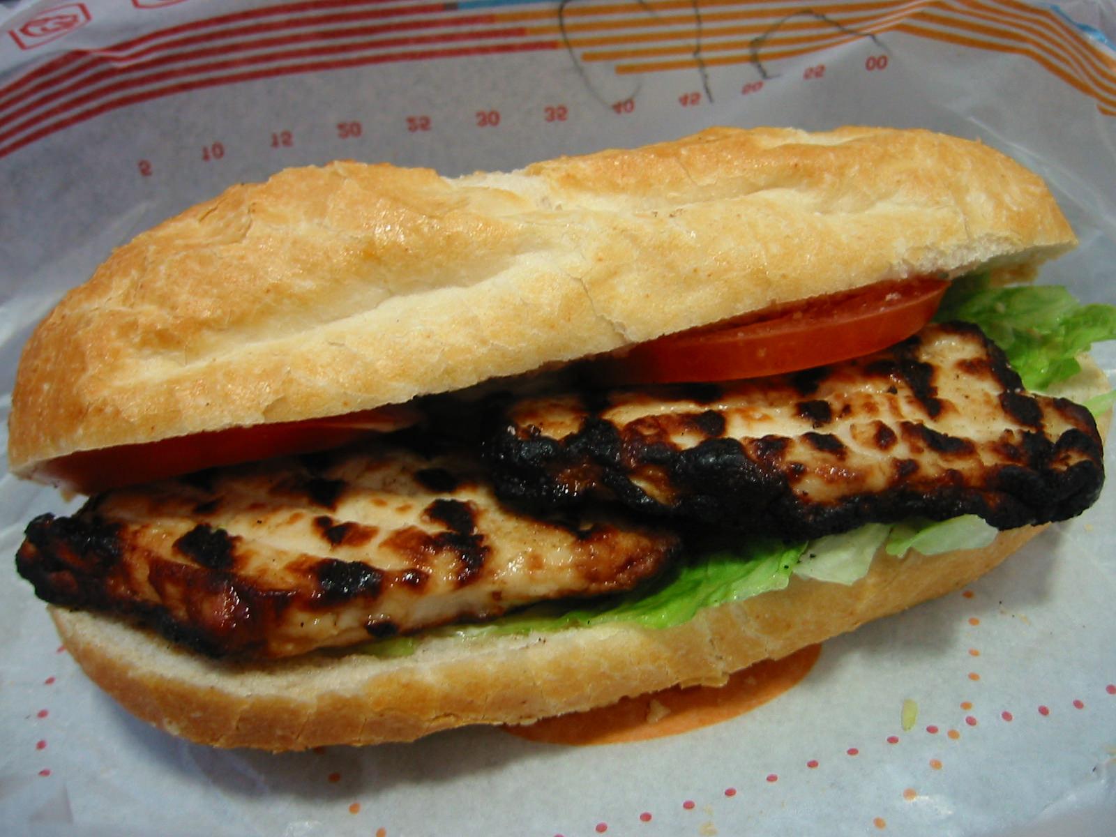 HJ's Grilled Chicken Baguette