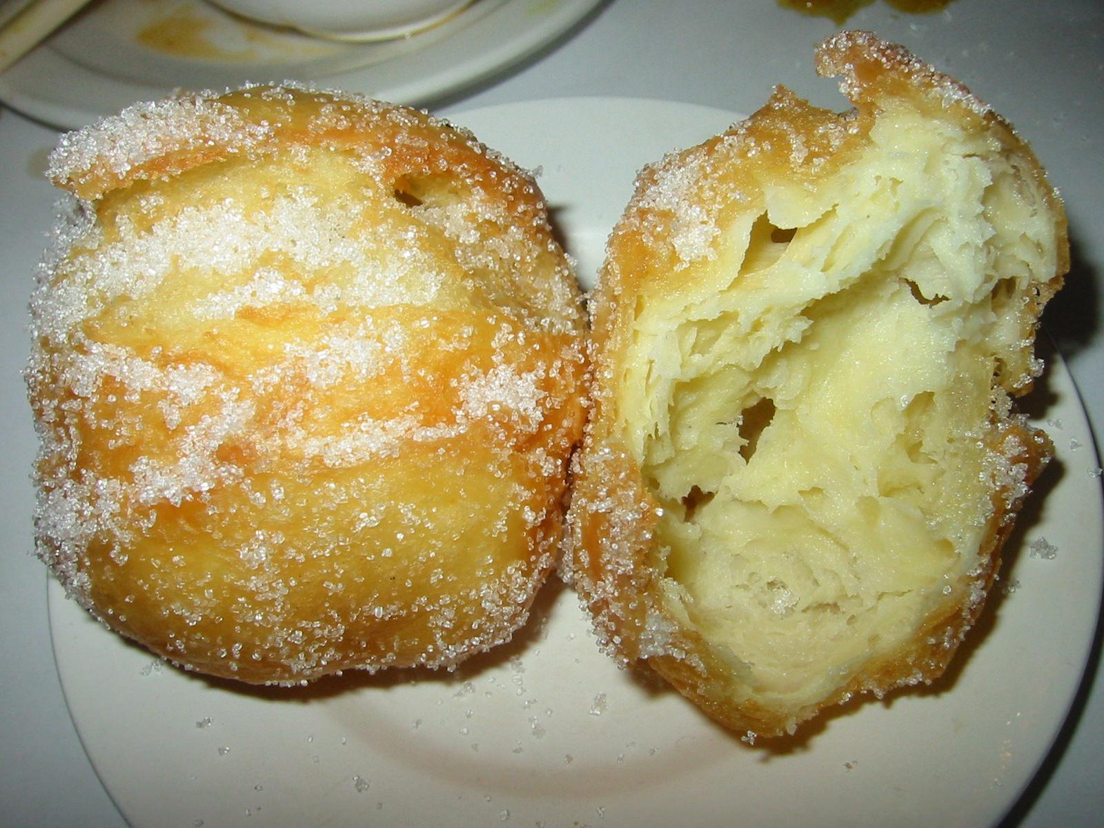 Chinese donut innards