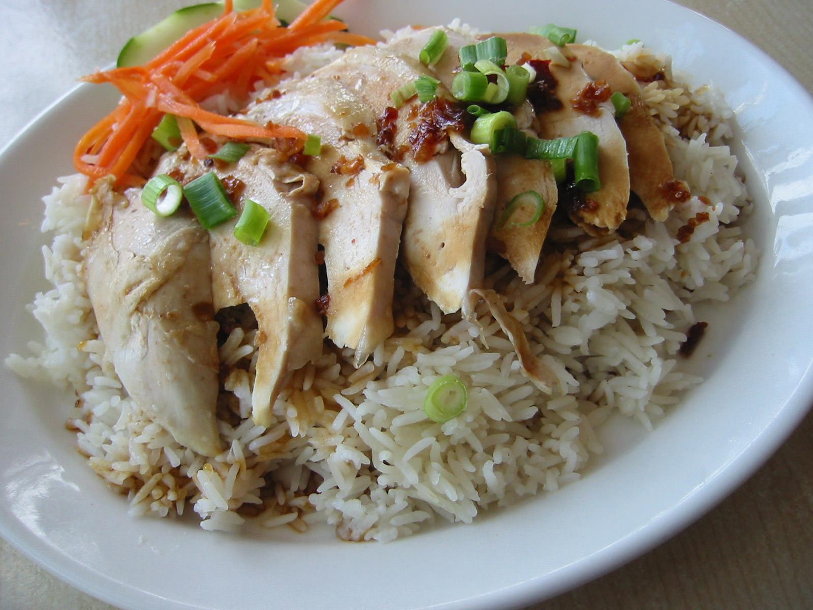 Soya chicken rice