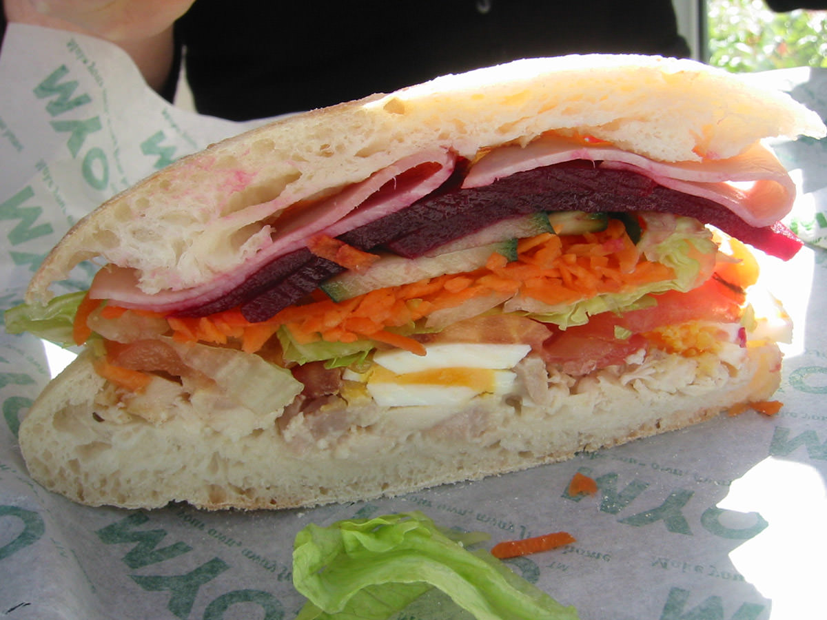Chad's sandwich