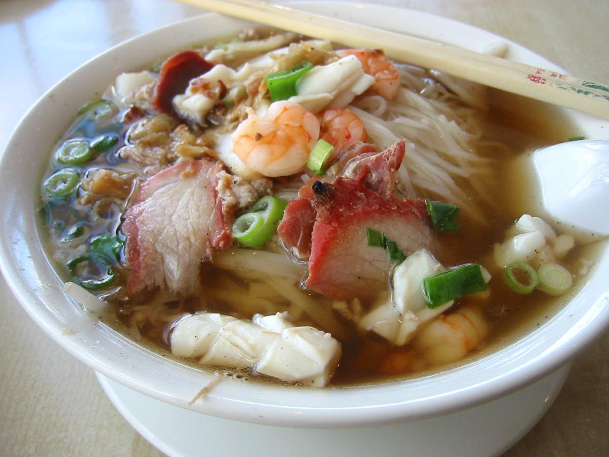 Han's rice noodle soup