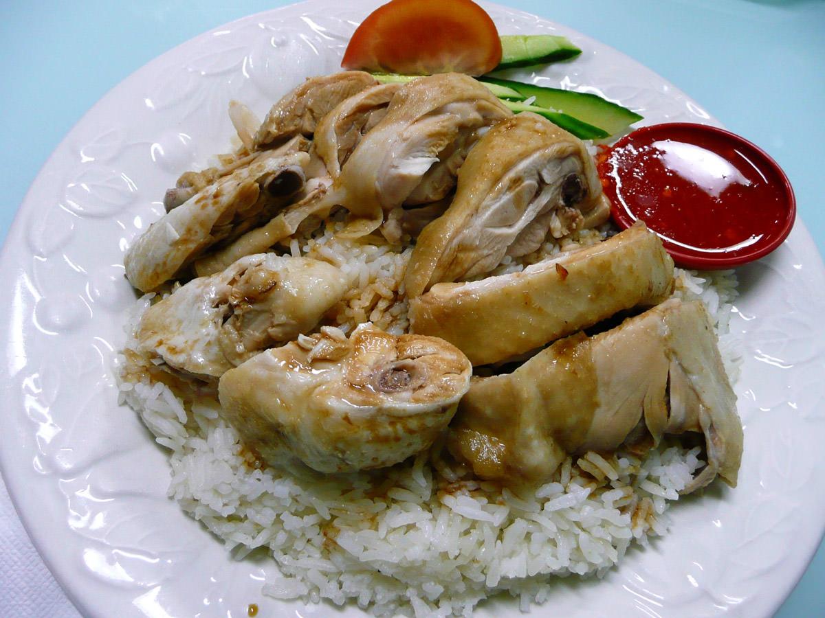 Hainan chicken rice 1