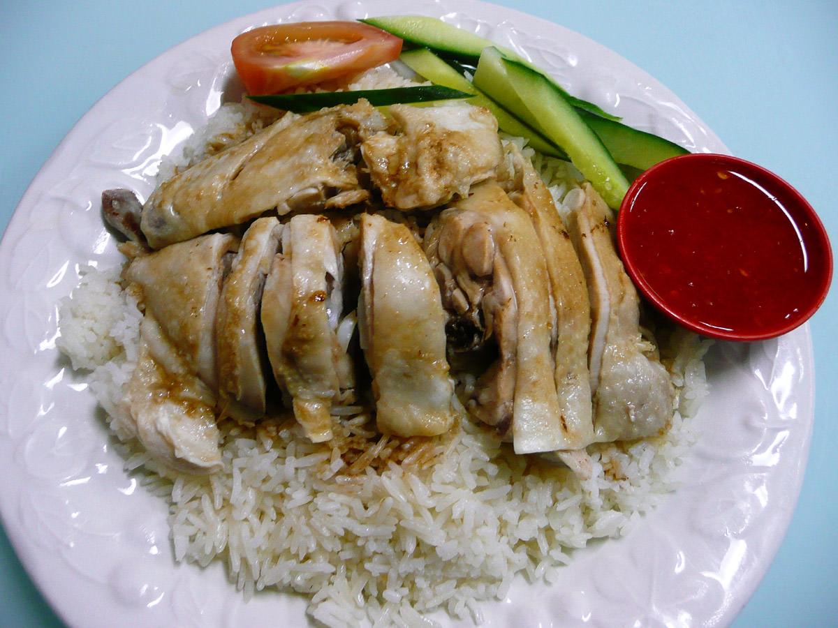 Hainan chicken 2