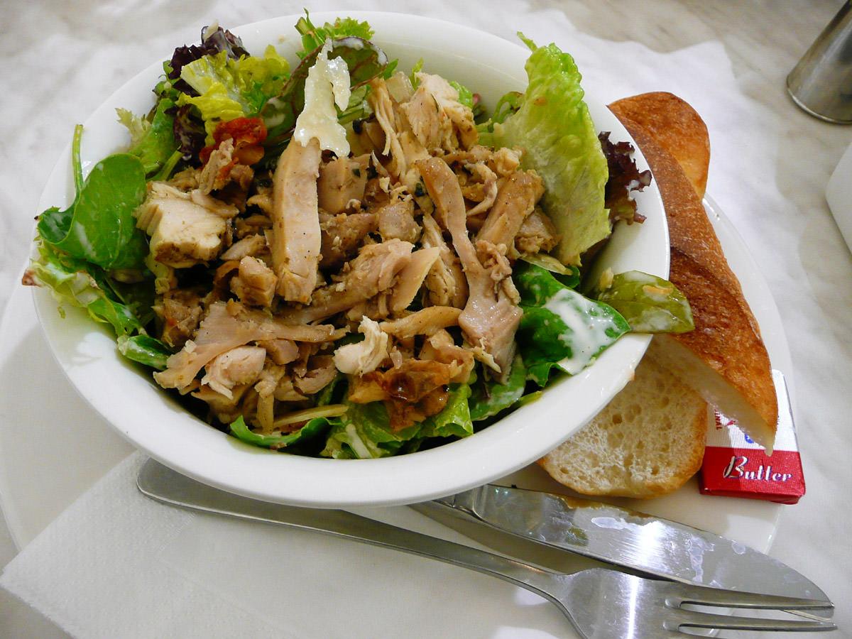 So-called chicken  caesar salad