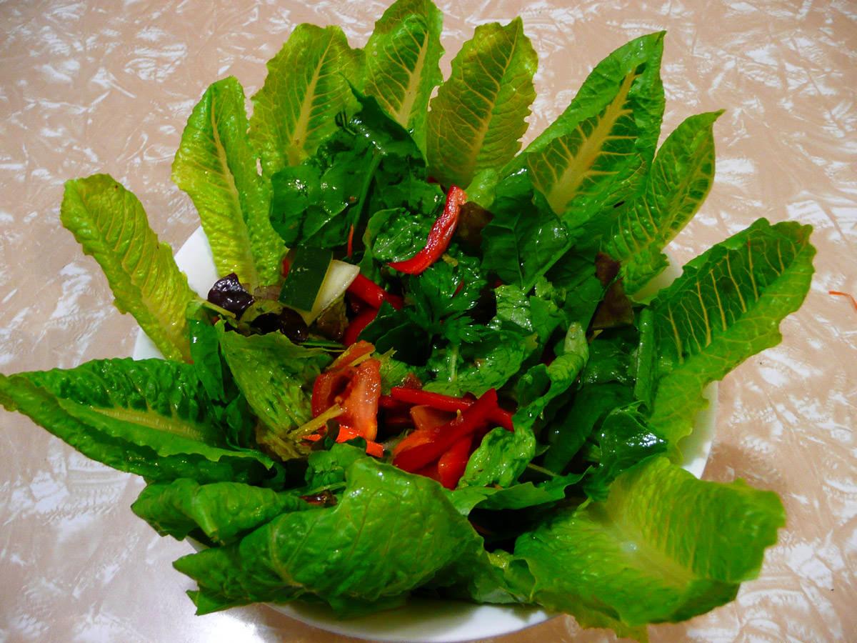 Crown of salad