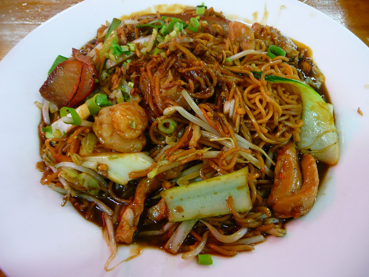 Combination noodles from Penang Cuisine