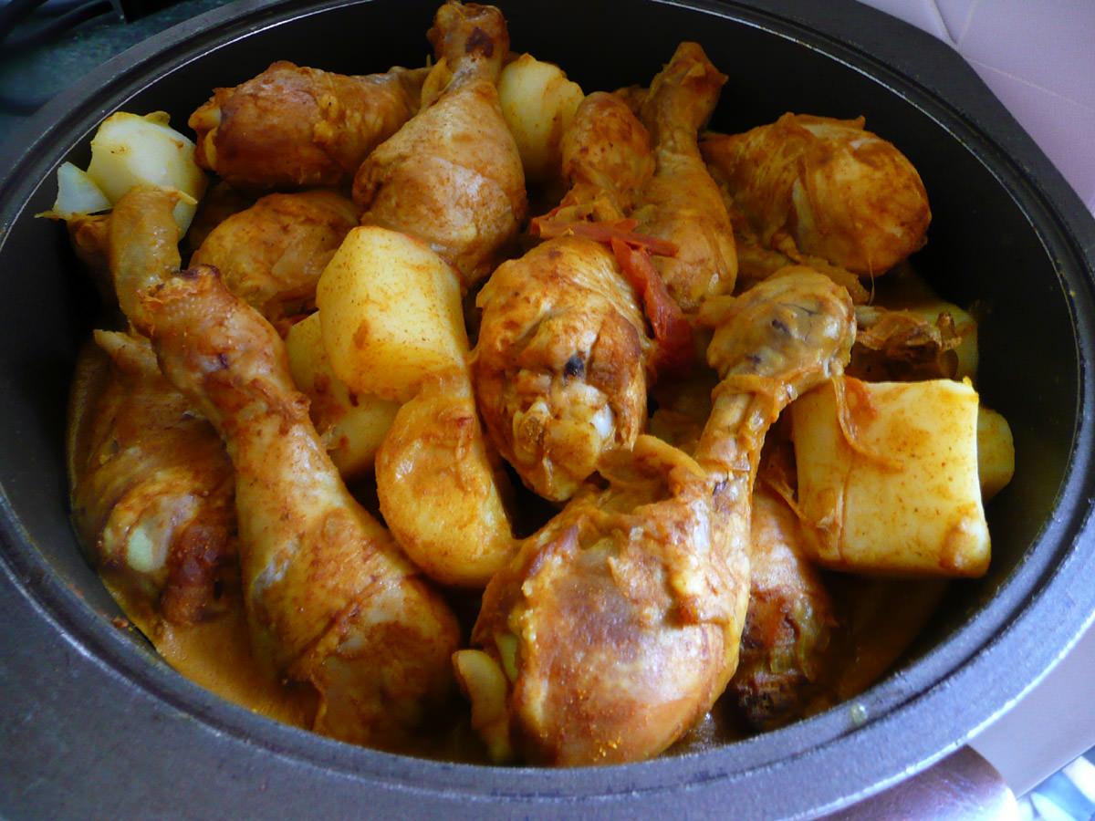 Curry chicken 4