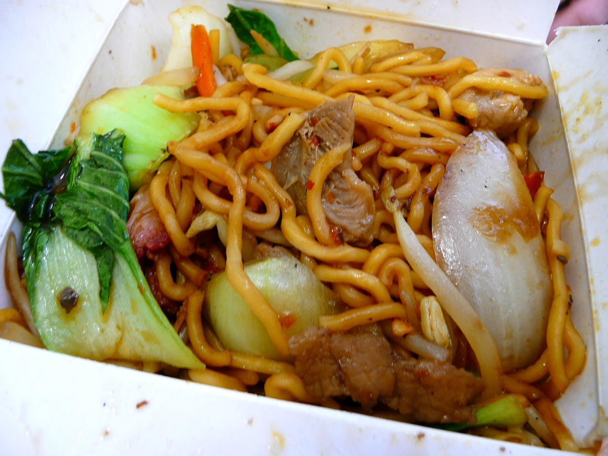 SRM's Chilli Noodle Box (HOT)