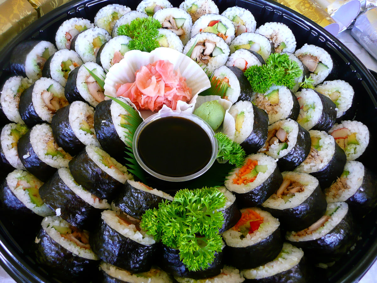 Sushi Platter from Nippon Fare