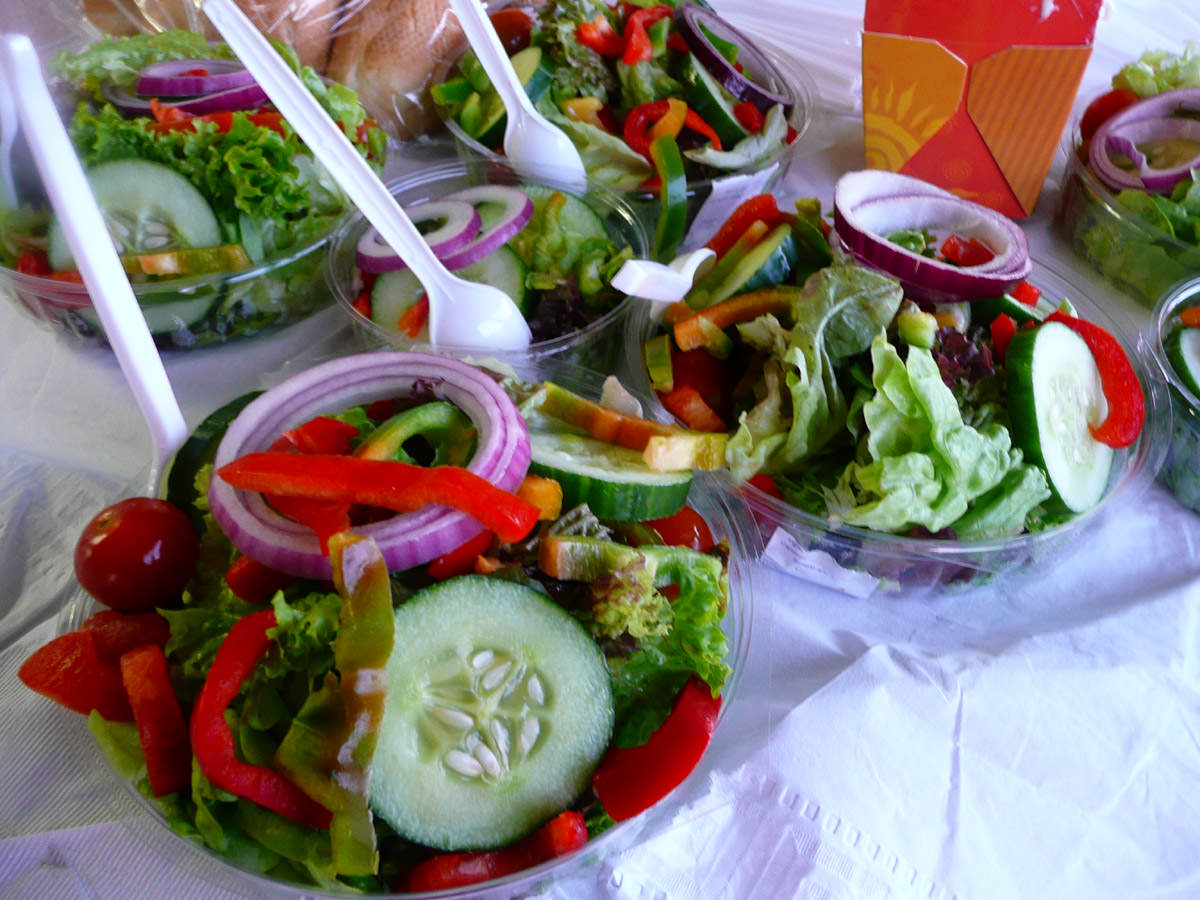 Salads from Nandos