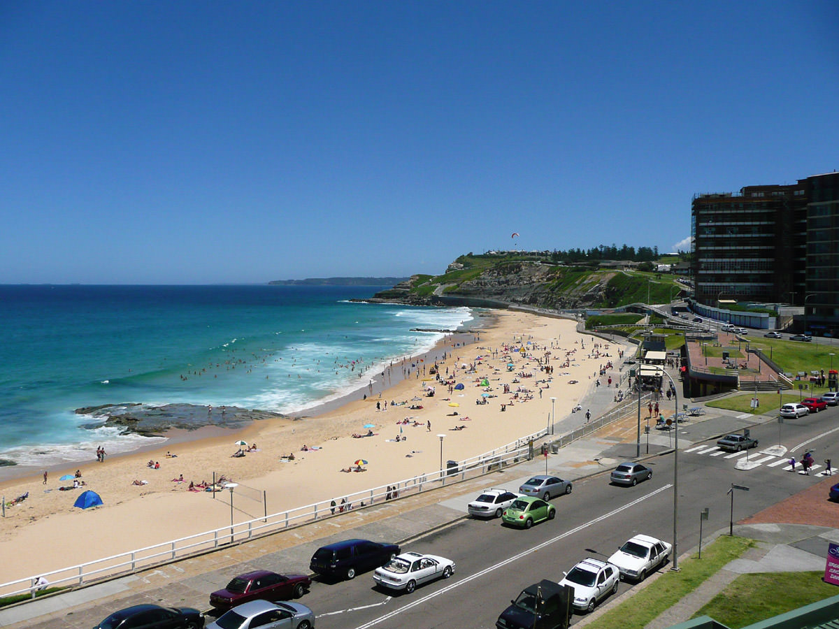 View Newcastle Beach