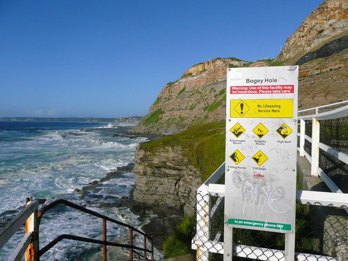 Bogey Hole sign