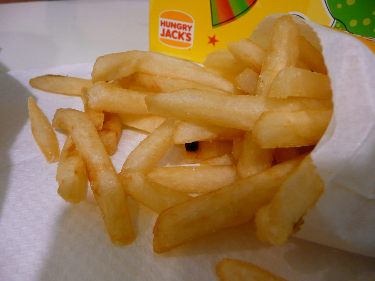 Hungry Jack's Fries