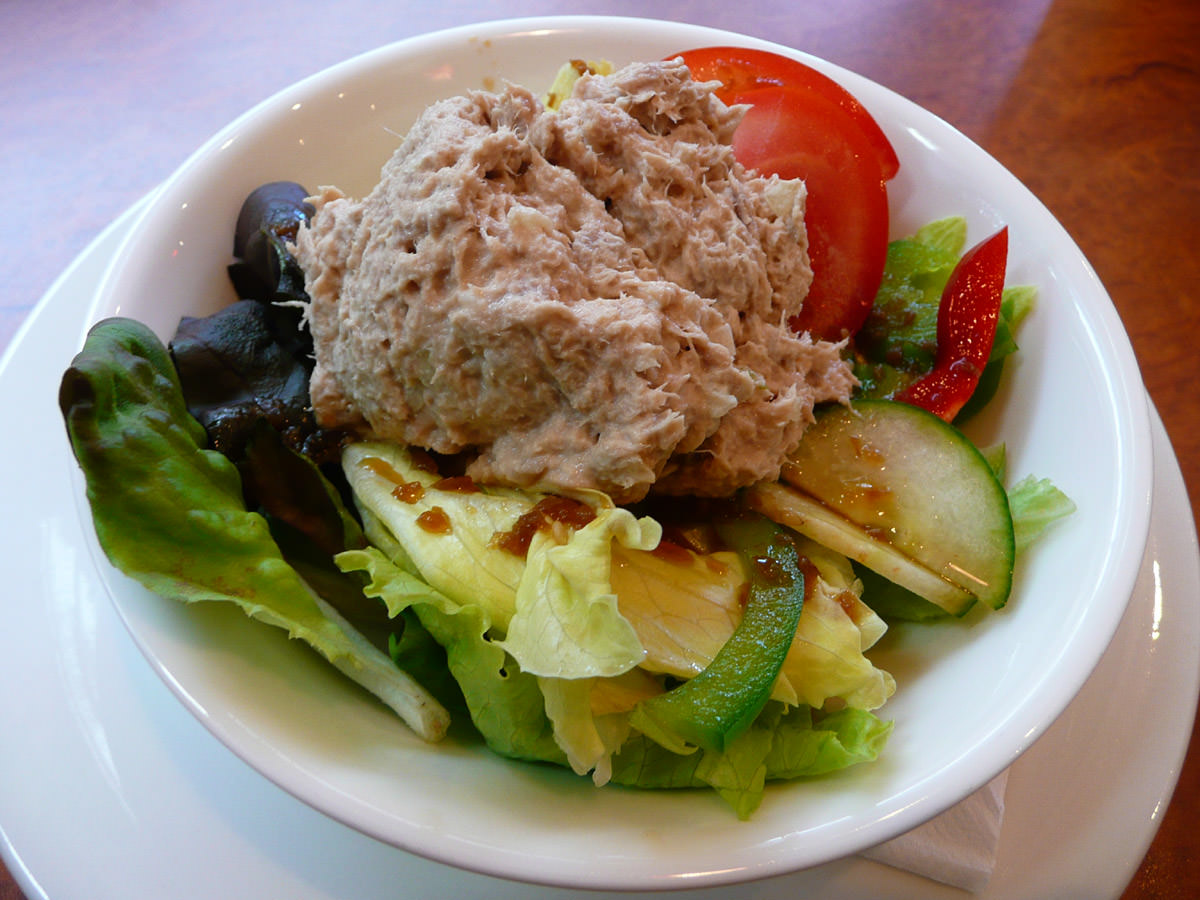 Tuna salad - second day in a row