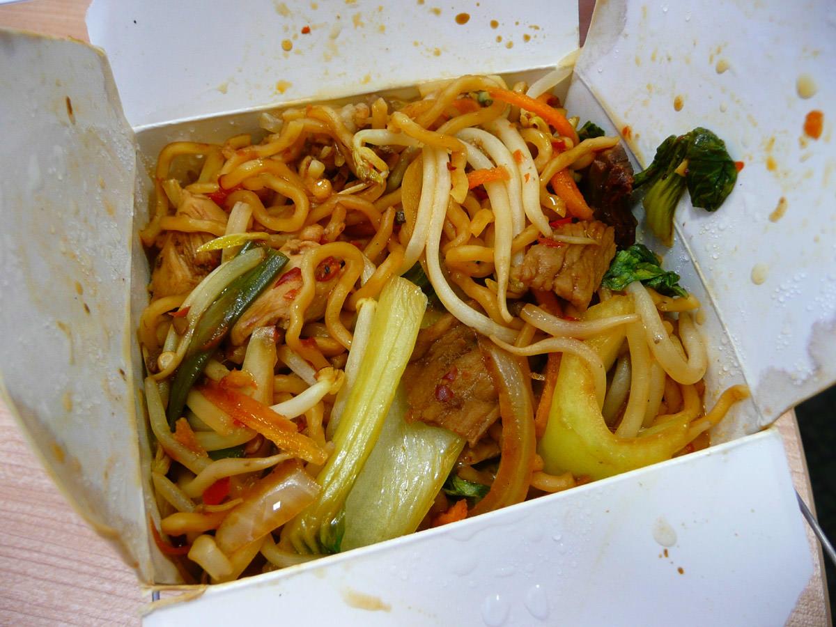 Noodle hot box - extra hot
