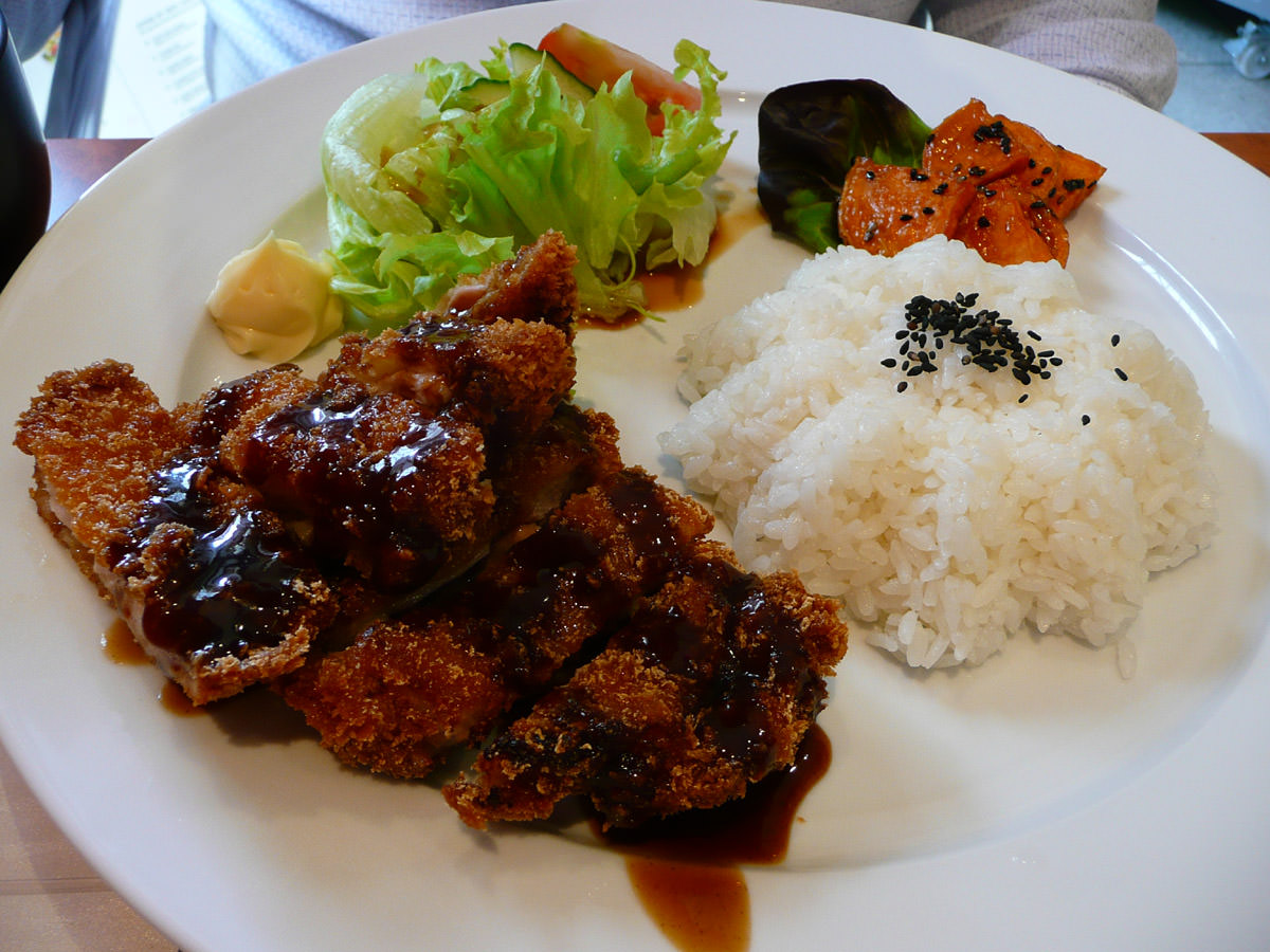 Chicken katsu lunch box