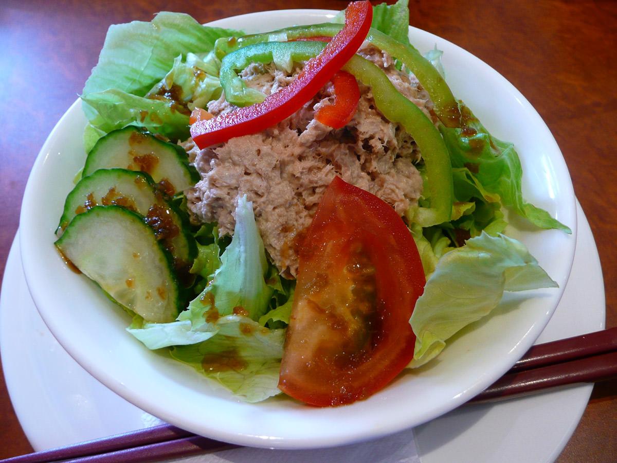 Cooked tuna salad