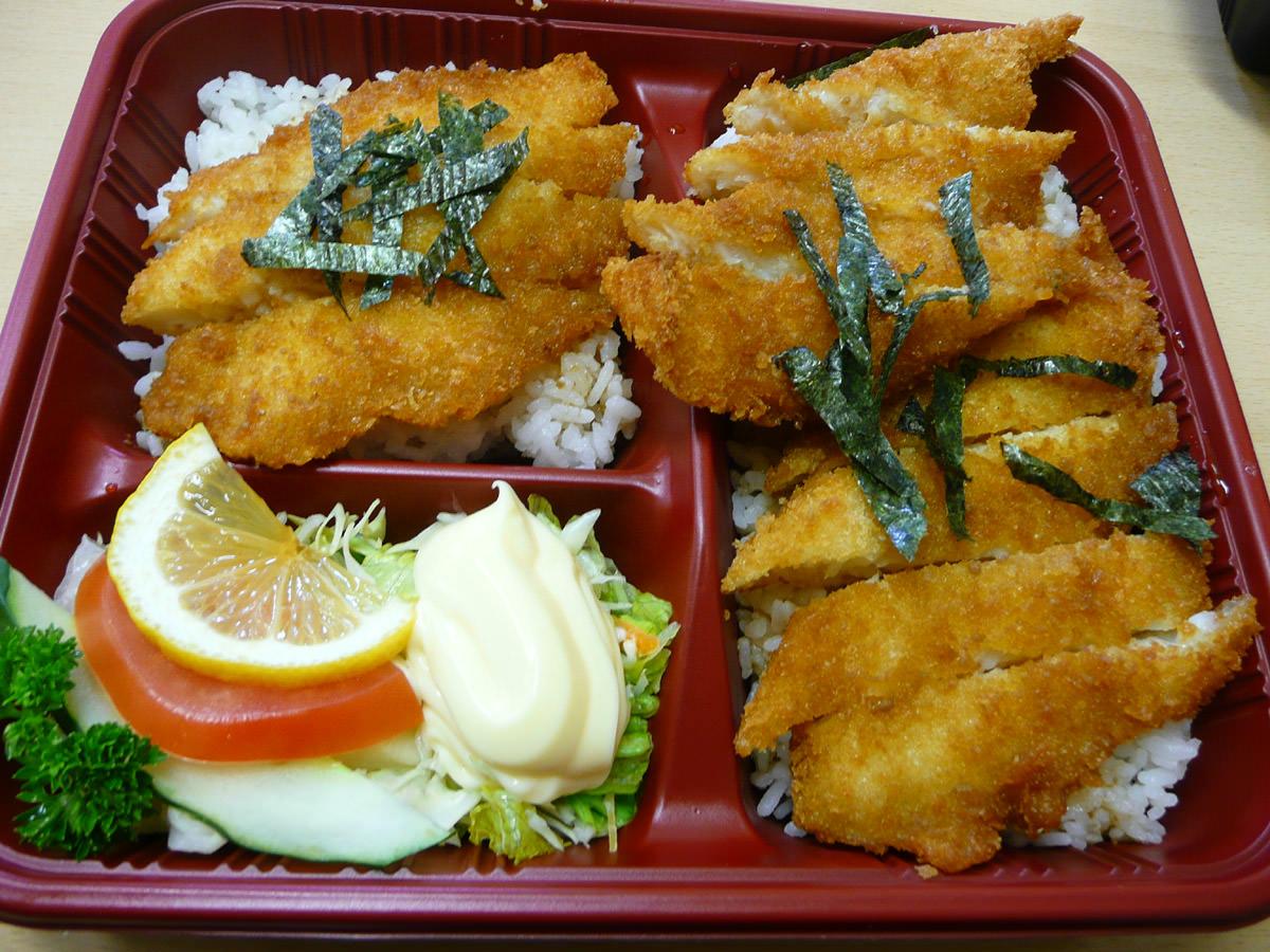 Teriyaki fish (not very teriyaki!)
