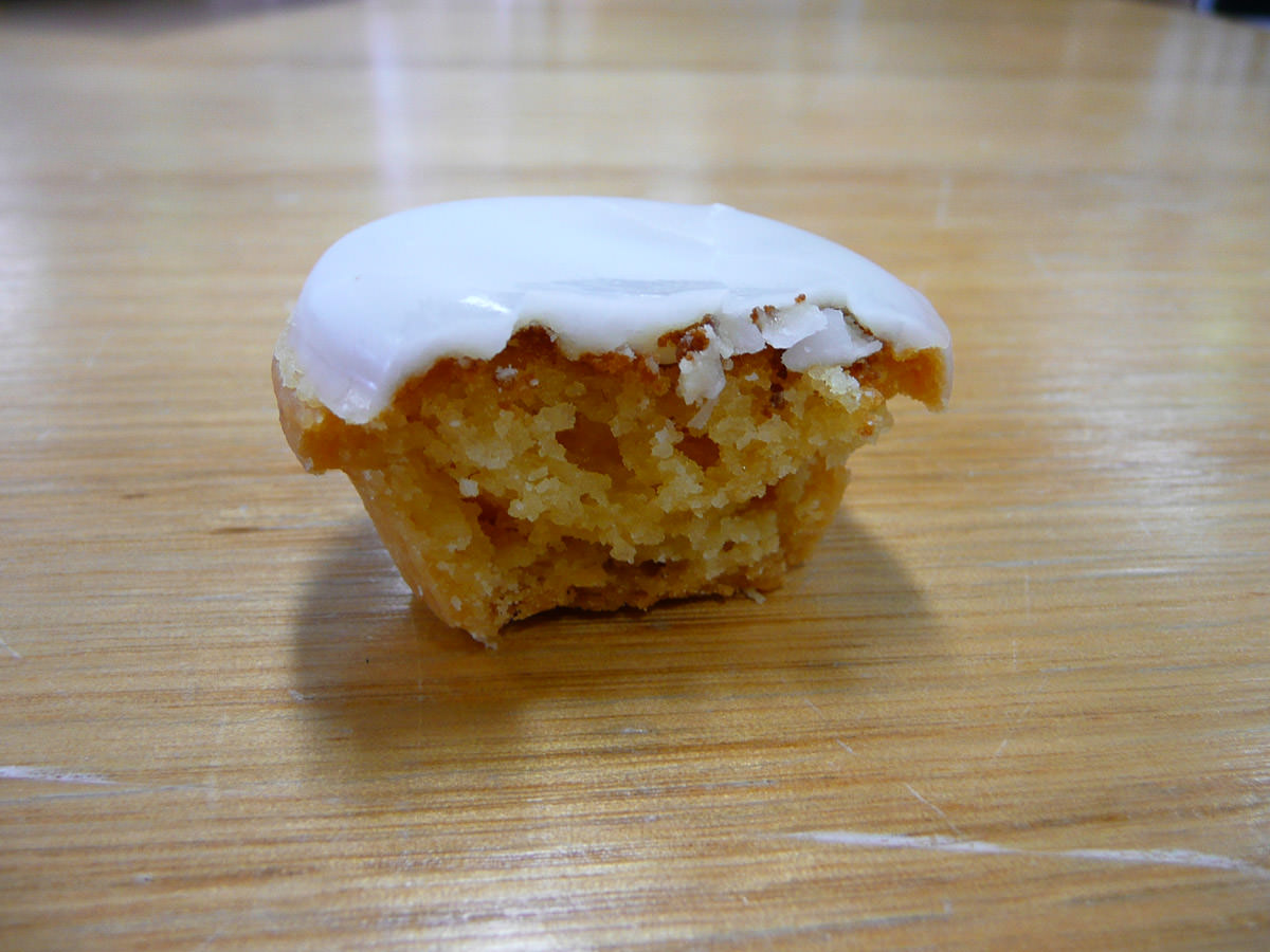Citron cake innards
