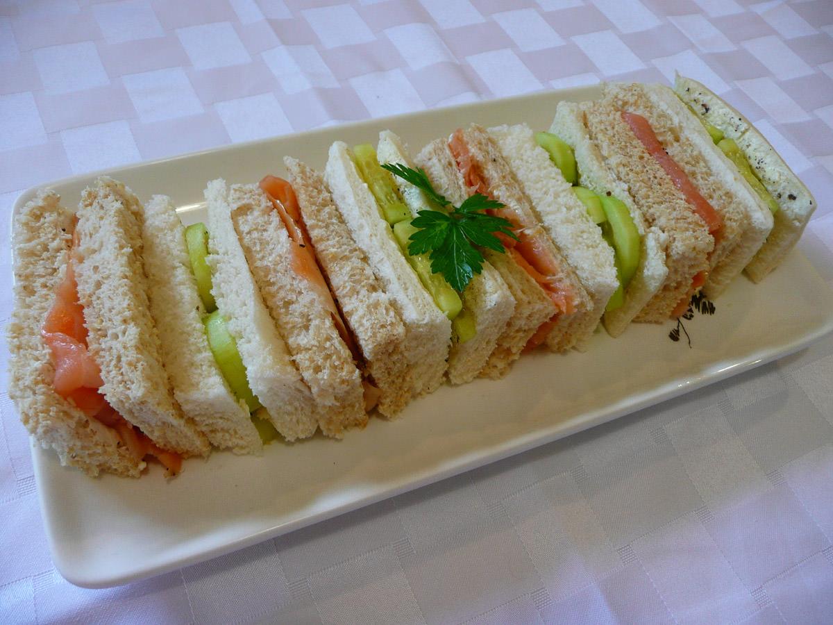 Dainty sandwiches