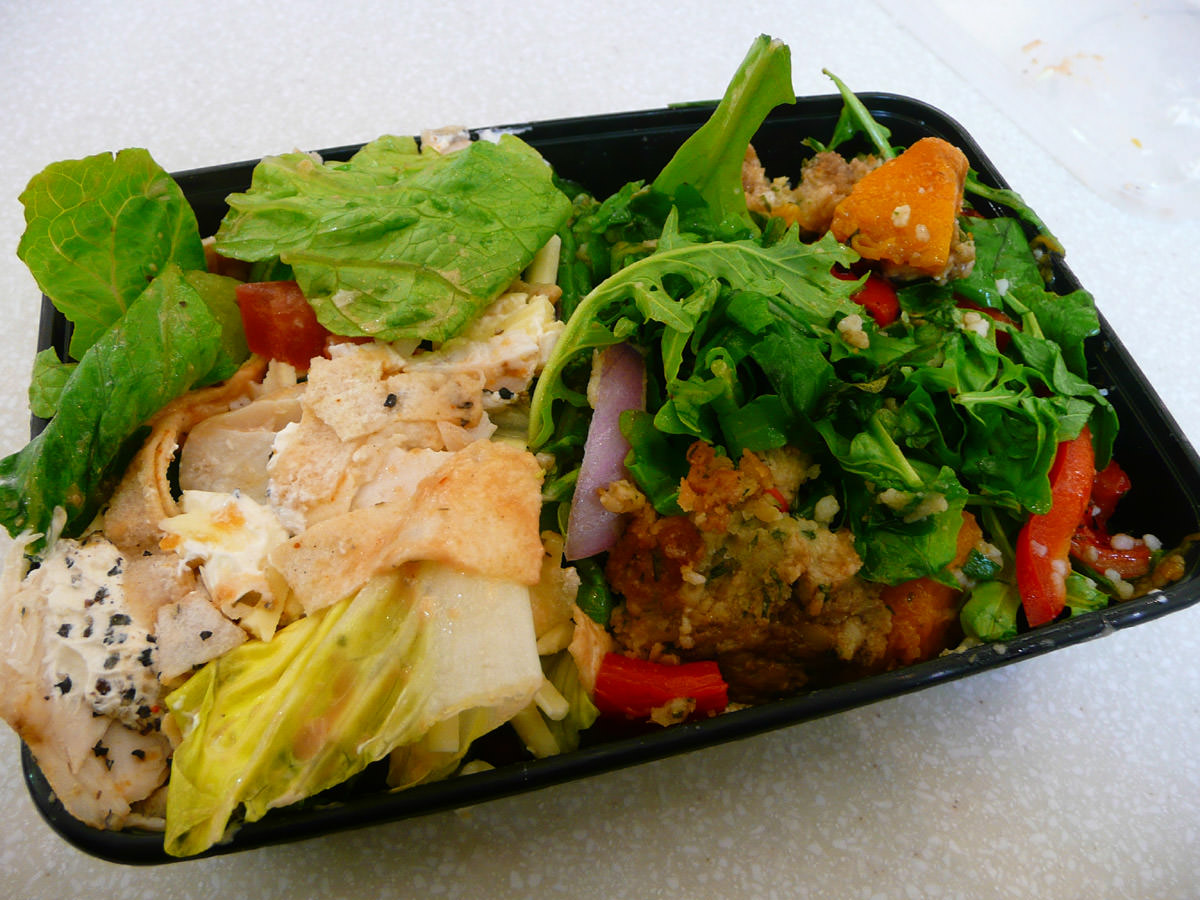 Two salads from Sumo Salad