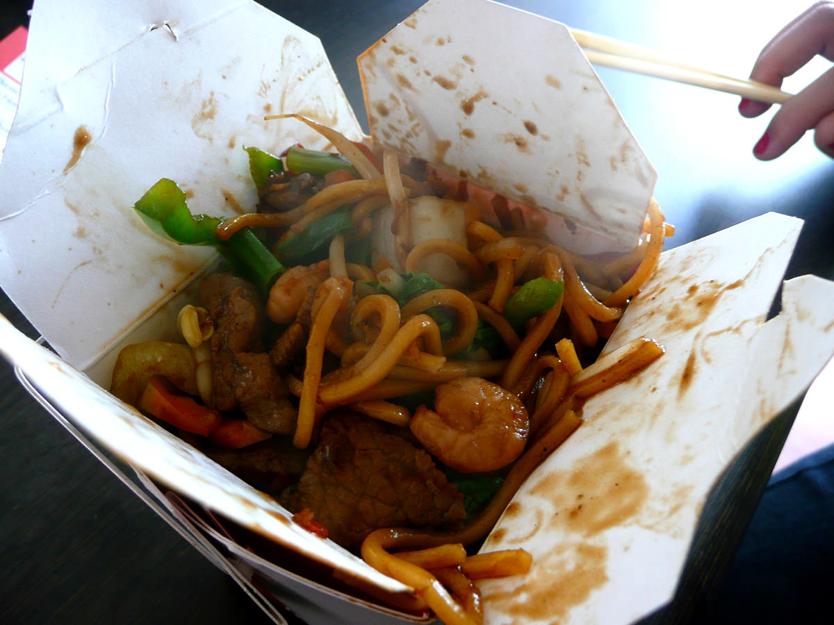 Noodle Box Combo Box